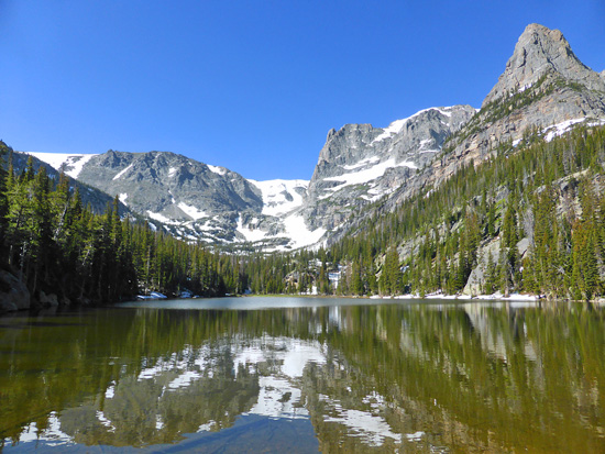 Odessa Lake (10,055') in Rocky Mountain National Park